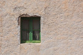 Old window and old wall.