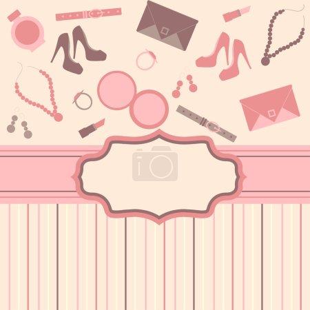 Fashion card background