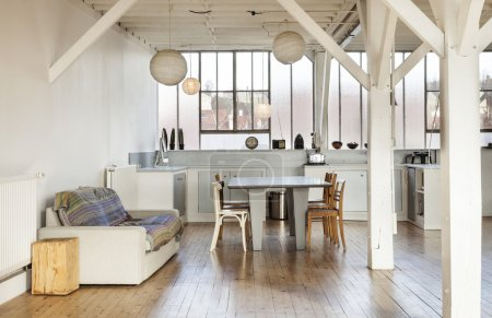 old loft, interior