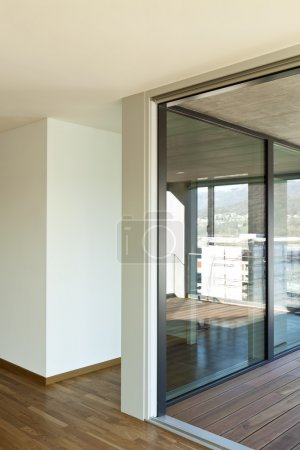 Interior, empty new apartment