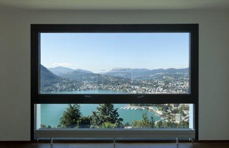 Modern apartment, large window