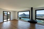 Modern apartment, large living room