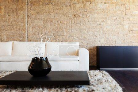 Living room, luxury apartment