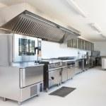Professional kitchen in modern building...
