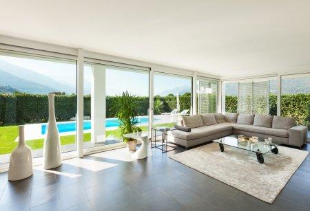 Interior, modern house