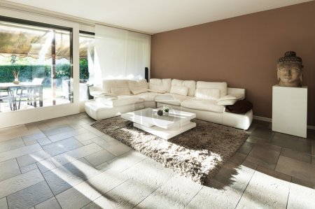 Photo for Interior, beautiful apartment, luxurious living room - Royalty Free Image