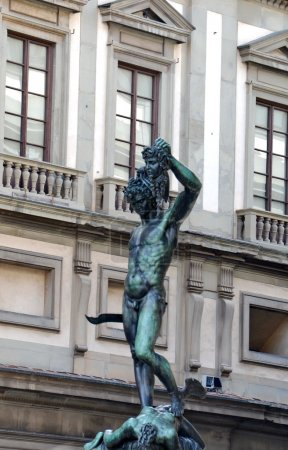 Perseus holding head of Medusa, Florence