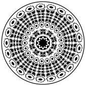 black ottoman serial patterns twenty-one