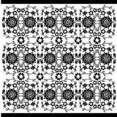 black and white ottoman serial patterns twenty-six