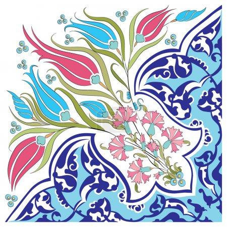 oriental ottoman design twenty-eight version