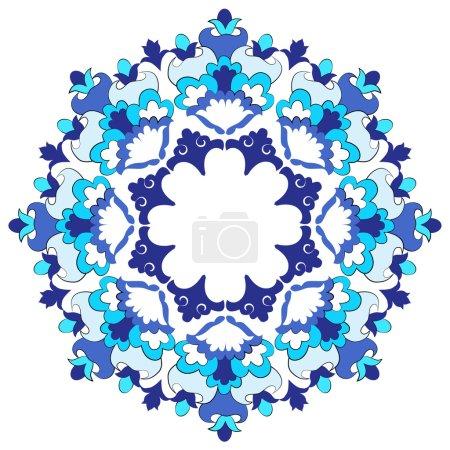 Ottoman motifs design series with eighteen