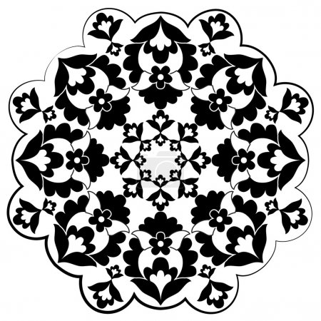 Ottoman motifs design series with fifteen
