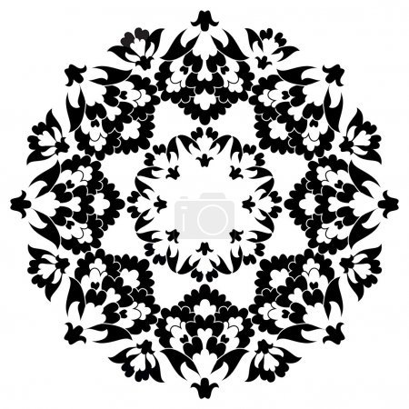 Ottoman motifs design series with six version