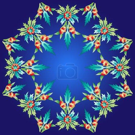 Ottoman motifs design series with twenty-four