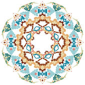 Series of patterns designed by taking advantage of the former Ottoman