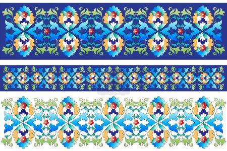 Ottoman motifs design series with forty