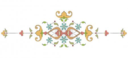 Ottoman motifs design series with thirty-one