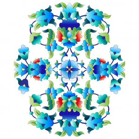 Ottoman motifs design series sixty