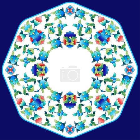 Ottoman motifs design series sixty two
