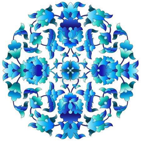 Ottoman motifs design series sixty three
