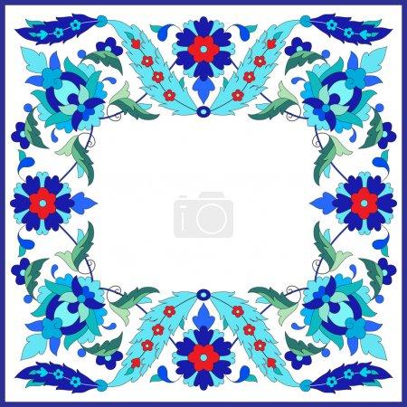 Ottoman motifs design series sixty nine