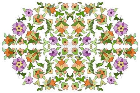 Ottoman motifs design series eighty nine