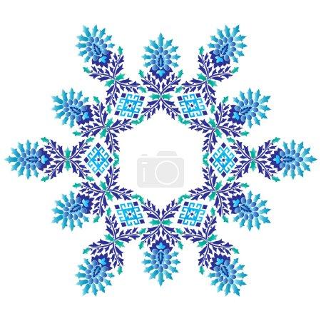 Ottoman motifs design series seventy five