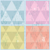 Diamond shaped pattern illustrated with Illustrator CS and EPS10 Vector with transparency