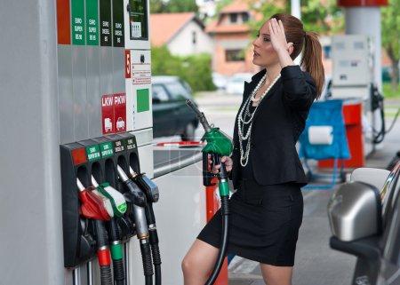 high gas price