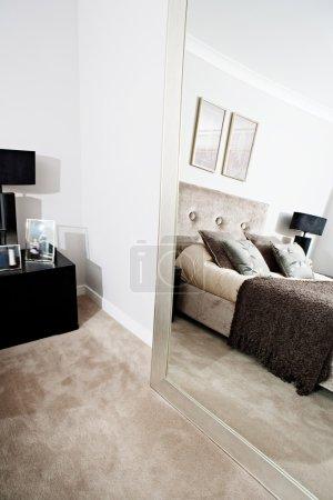 Stylish hotel bedroom