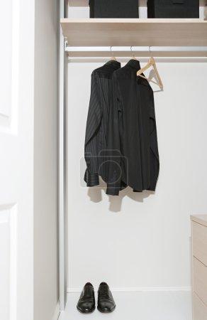Businessman tidy black shirts