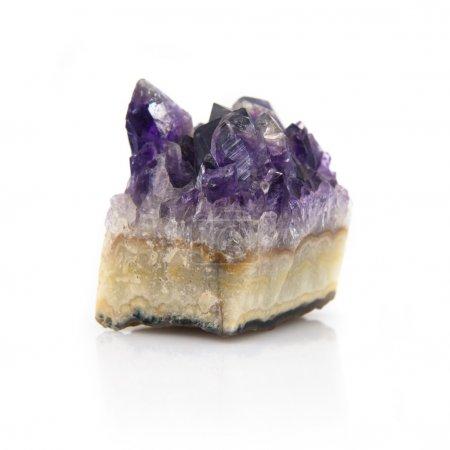 quartz isolated on white background