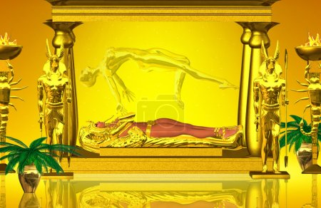 Shrine Of The Mummy