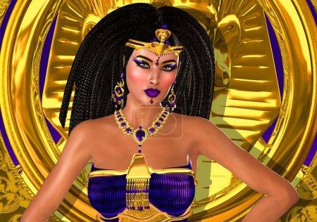 Purple Princess of Ancient Egypt