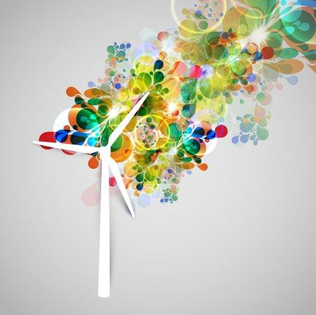 Wind generator illsutration