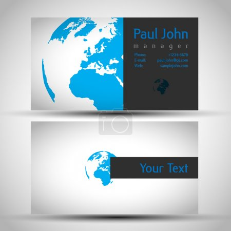 Earth business-card