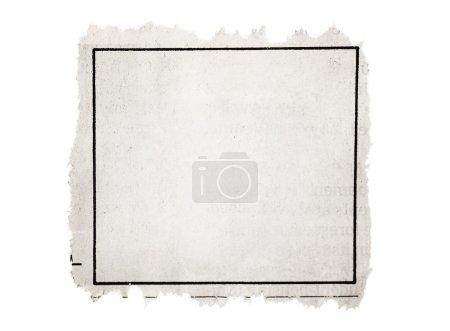 Photo pour Partie du journal - image libre de droit