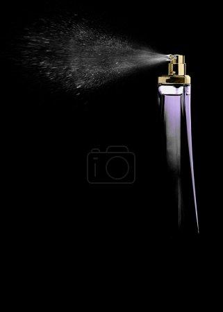 Spray perfume...