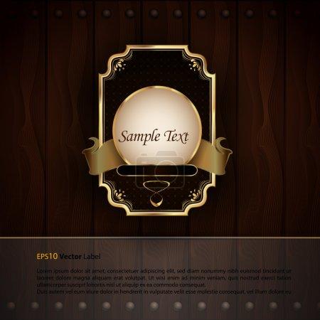 Golden Royal Labels - Elegant Presentation
