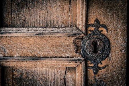 Don't peek through the key hole