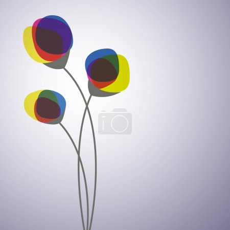 Illustration for Vector abstract flower - Royalty Free Image