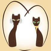 Valentine cats