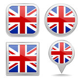 English flag buttons