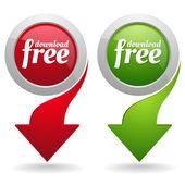 Download free button set
