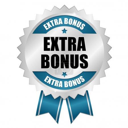Big blue extra bonus button