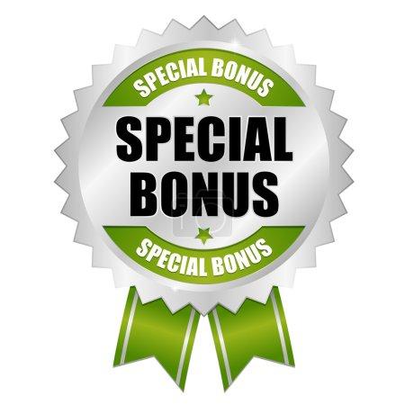 Big green special bonus button