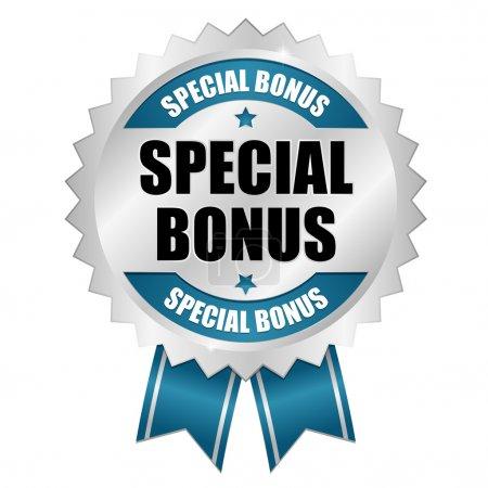 Big blue special bonus button