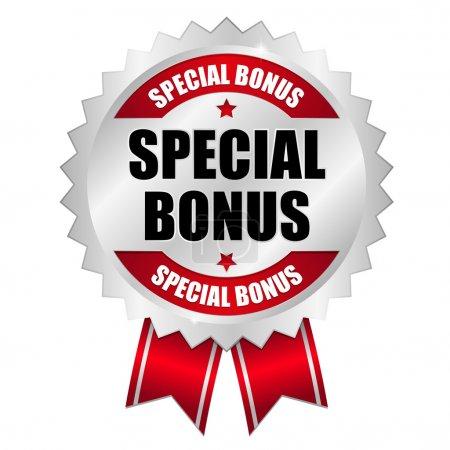 Big red special bonus button