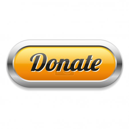 Oval donate button
