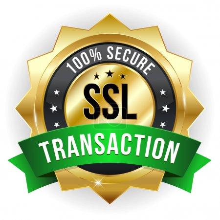 Secure transaction badge